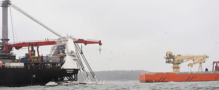 Inkoosta Paldiskiin kulkeva meriputki valmistui elokuun alussa. Maaputki on täytetty jo kaasulla, mikä aiheuttaa rajoituksia työskentelyyn putkilinjan läheisyydessä. Kaasun siirto Suomen ja Viron välillä alkaa vuoden 2020 alusta.