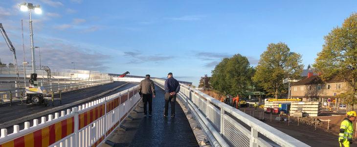 Karjaan uusi silta käyttöön