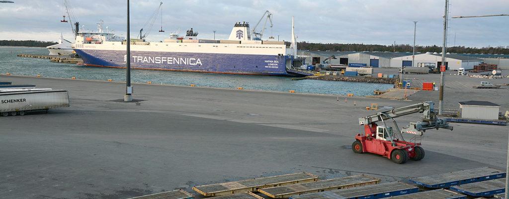 Hangon satama taas uuteen ennätykseen