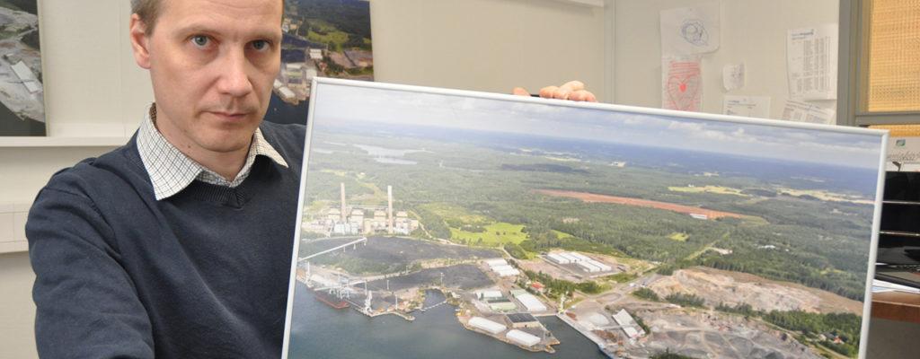 Energiayhtiö suunnittelee jakeluterminaalia Inkooseen
