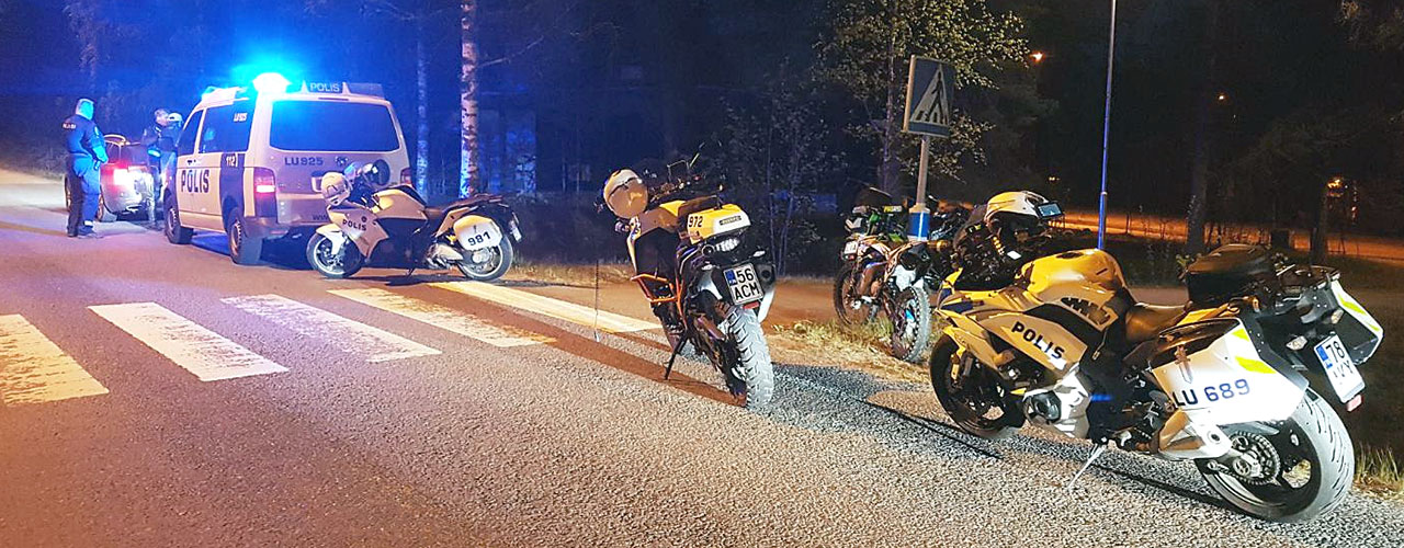 Poliisi huolissaan valvonnan tuloksista