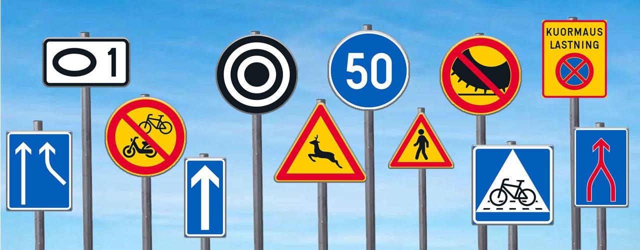 Muutoksia sääntöihin ja uusia liikennemerkkejäkin