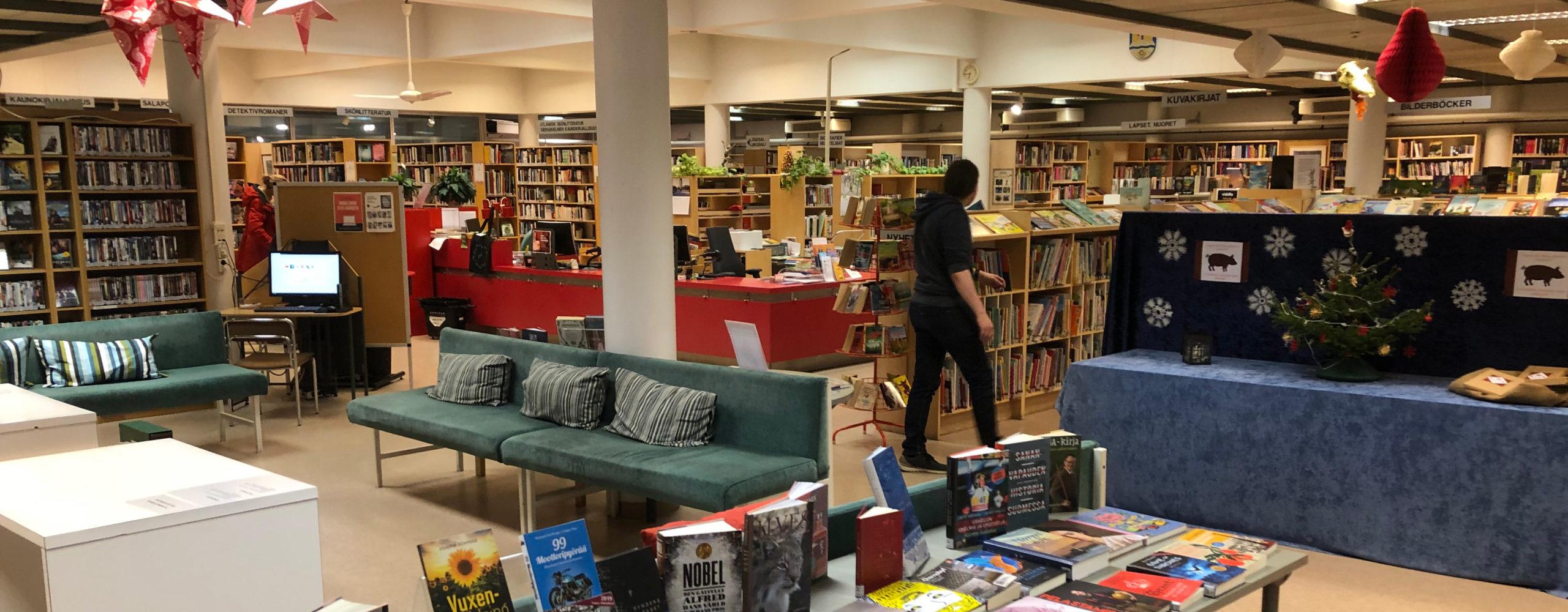 Karjaan kirjasto muuttaa elokuussa