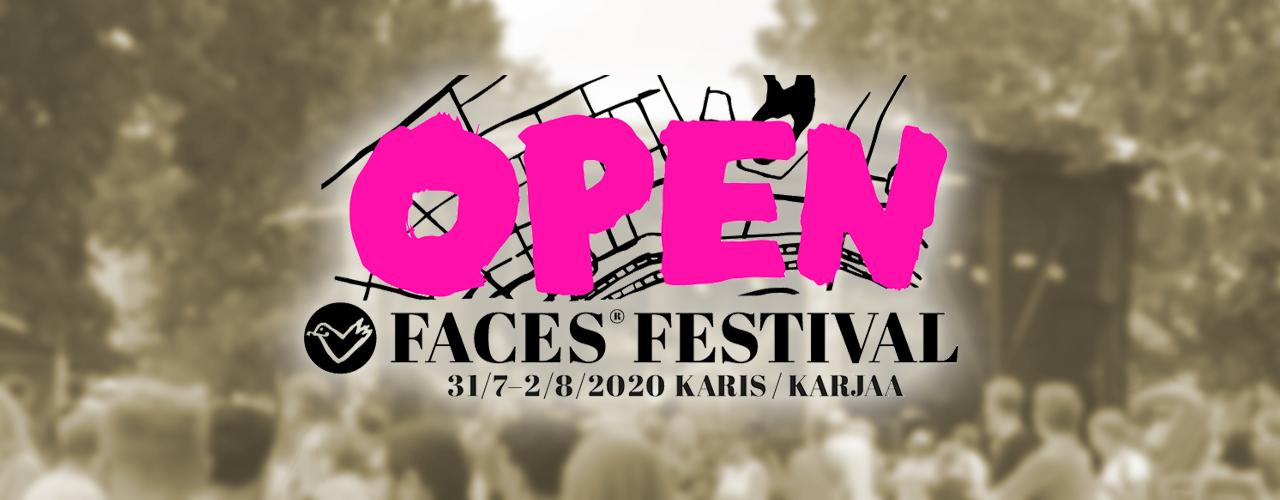 Faces-festivaalin musiikkiesitykset tänä vuonna ilmaisia