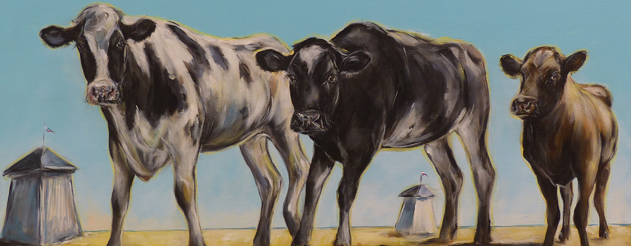 Syysunelmia-näyttely nostaa lehmät pääosaan