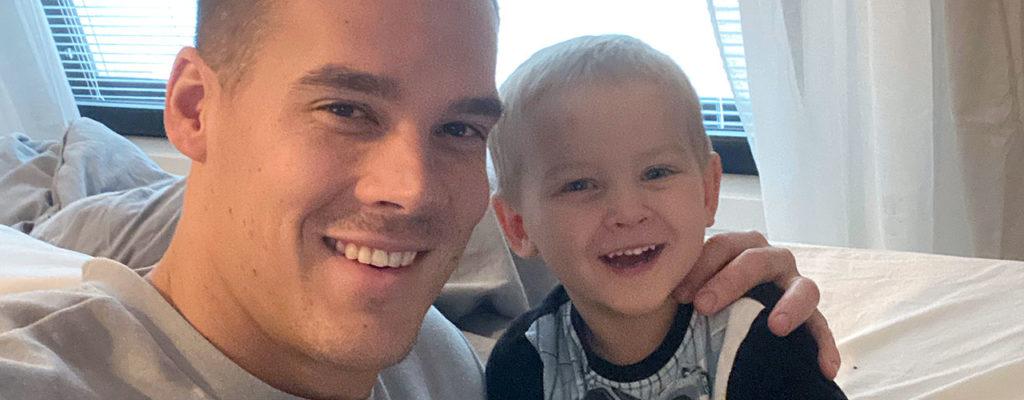 Nico Rönnberg palasi kotiin perhesyistä