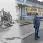 Valokuvat muistuttavat yhä sodan tuhoista