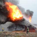 Maatalousrakennus paloi Sannäsissä
