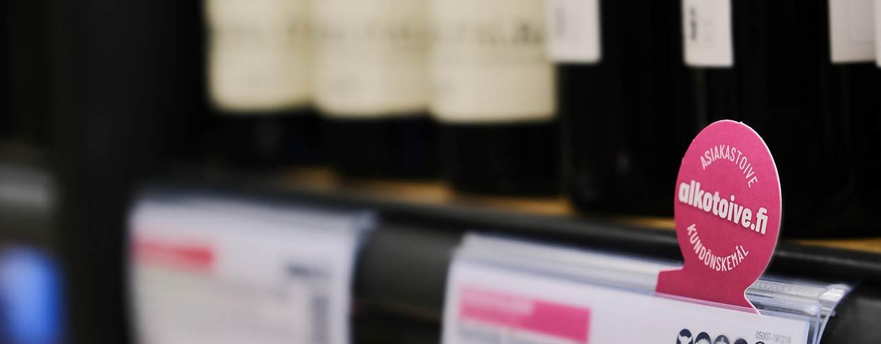 Alkoholin myynti kasvoi lähes viidenneksen