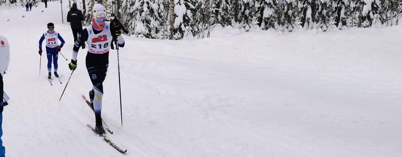 Tomi Sandberg tyytyväinen SM-hiihtojen antiin
