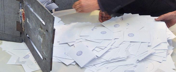Äänestys vaalit laskenta