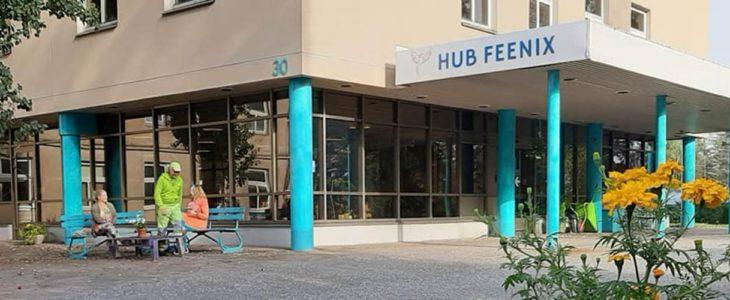Hub Feenix Meltolan entisessä sairaalakiinteistössä