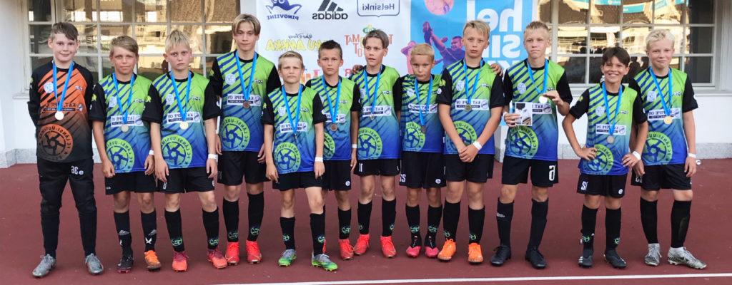 FC Länsi-Uusimaa hopealla Helsinki Cupissa