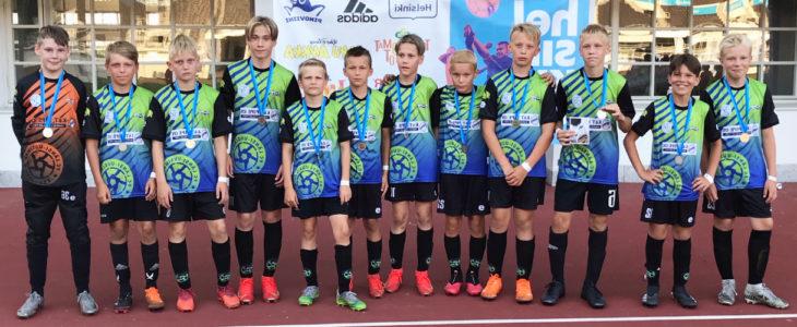 FC Länsi-Uusimaan 2009 syntyneiden poikien joukkue