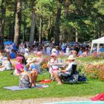 Hangon Casinon puistossa nautittiin jälleen picnicistä