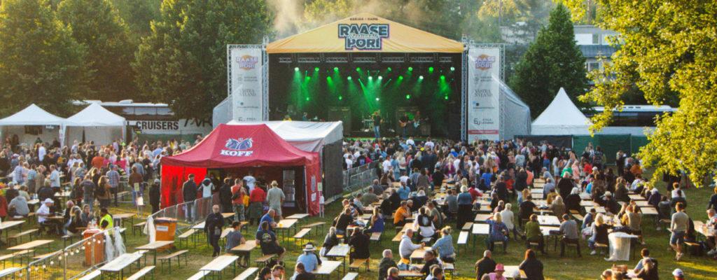 Raasepori Festivaalin kävijämäärä odotettua pienempi – Happoradiollakin oli hauskaa