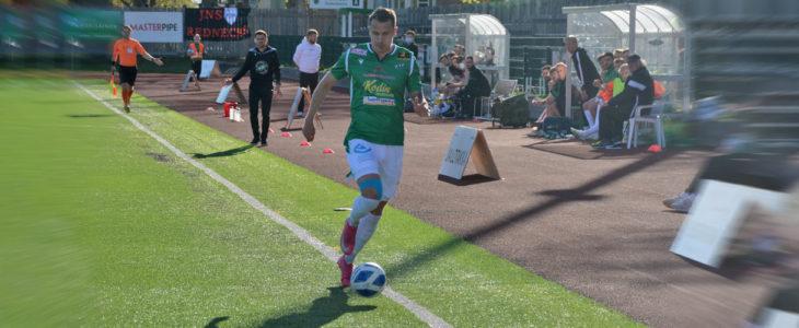 Kauden viidennen osumansa tuikannut Juuso Liukkonen vastasi EIF:n ainokaisesta Kokkolassa. (Arkistokuva)
