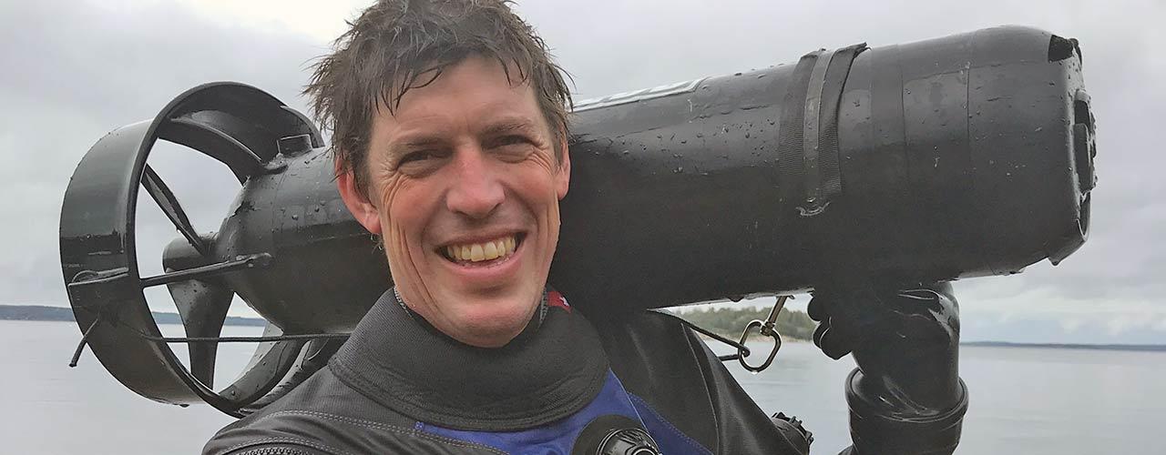 Tvärminne pyrkii johtavaksi kylmien vesien sukelluskouluttajaksi